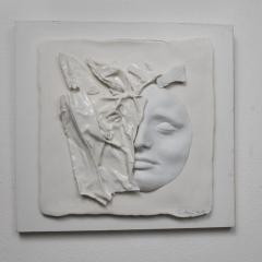 Bílá-Tvář-32-x-32-cm-porcelán-2017