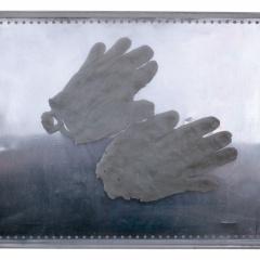 Z-cyklu-Ruce-asambláž-plech-vosk-plexi-50-x-38-cm-2008
