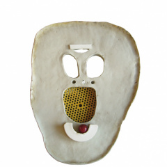 From-the-series-Masks-porcelain-and-stoneware-vh-30–37-cm-2002-