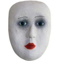 From-the-series-Masks-porcelain-and-stoneware-vh-30–37-cm-2002