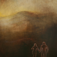 In-the-Landscape-oil-painting-75-x-585-cm-1992