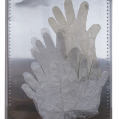 1_From-the-series-Hands-assemblage-tin-wax-plexiglass-305-x-41-cm-2008