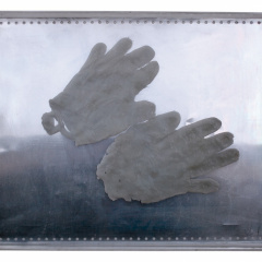 From-the-series-Hands-assemblage-tin-wax-plexiglass-50-x-38-cm-2008